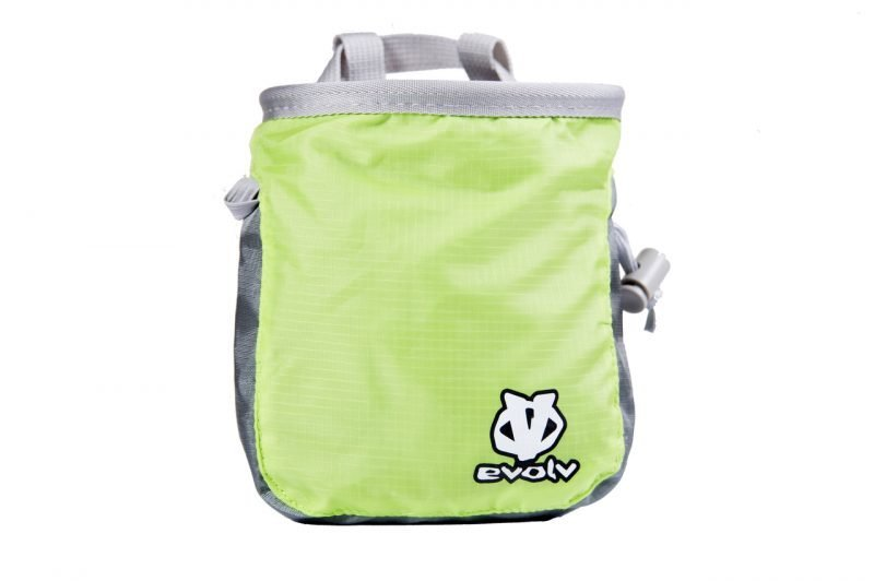 Evolv Roundtangular Lime Chalk Bag